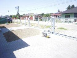 Plot, samonosná brána, branka, Ostrava