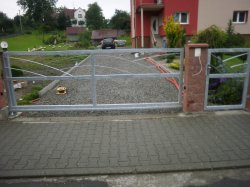 Posuvná brána Šilheřovice