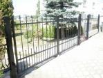 Kovaná křídlová brána a branka Hlučín