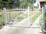 Křídlová brána kovaná Šilheřovice