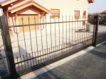 Posuvná kovaná brána Ostrava Koblov